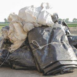Usuwanie folii rolniczych i innych odpadów rolniczych